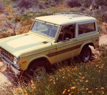 Yellow-Galpinized-Bronco-Front