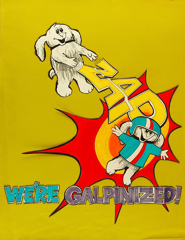 Galpin's 'We're Galpinized' Sketch