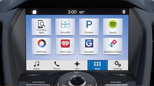 2016 ford vehicles with sync updated with carplay. Black Bedroom Furniture Sets. Home Design Ideas