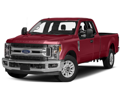Ford SuperDuty Red