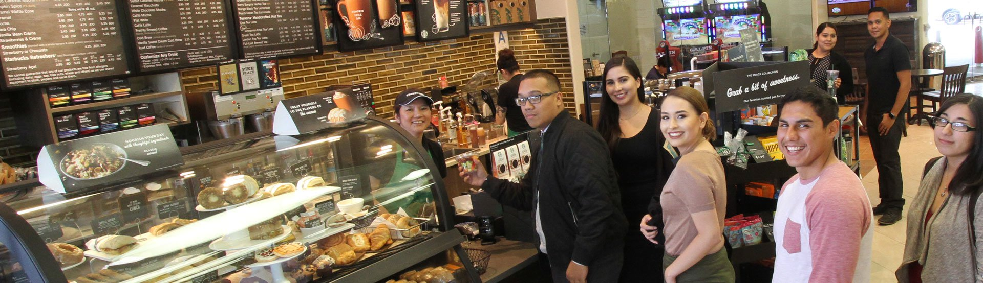 Starbucks' Customers at Galpin