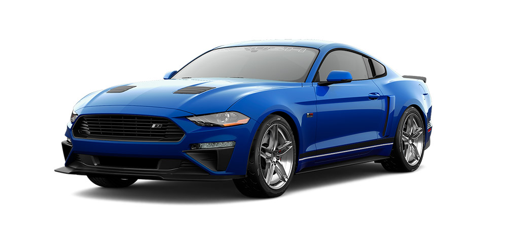 2018 Mustang RS1 Front Angle