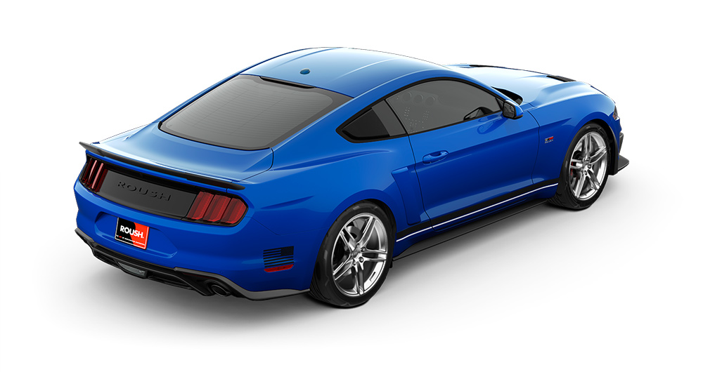 2018 Mustang RS1 Rear Angle