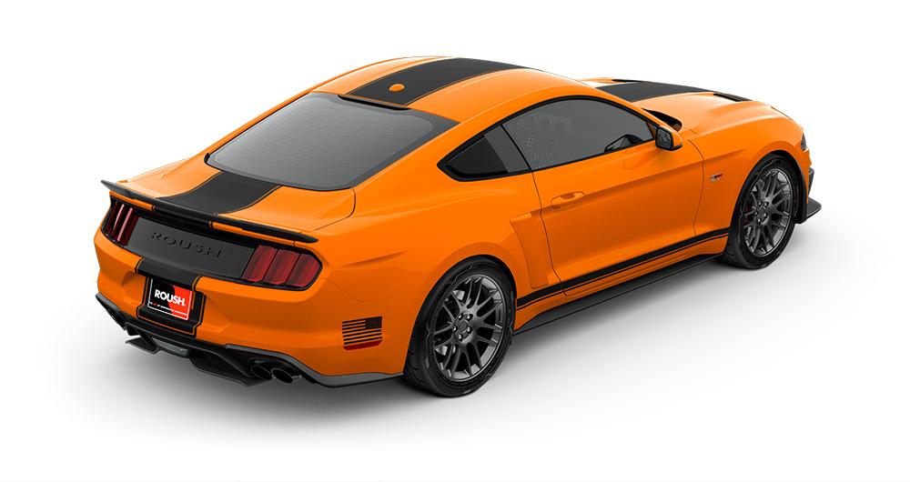 2018 Mustang RS2 Rear Angle