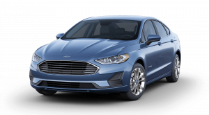 blue ford fusion