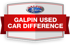 Galpin Motors logo links you to Galpin Used Car Difference