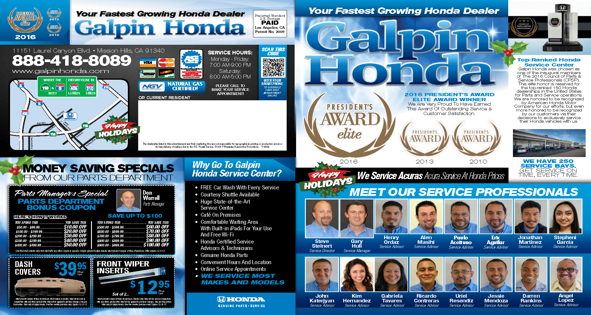 Galpin Honda In Mission Hills U003eu003e Honda Service U0026 Repair, Coupons Mission  Hills,