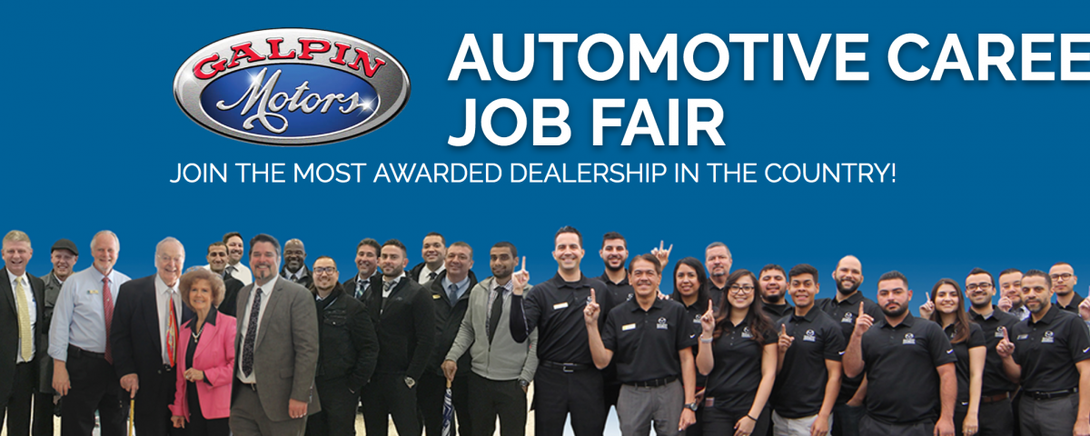 Automotive Career Job Fair