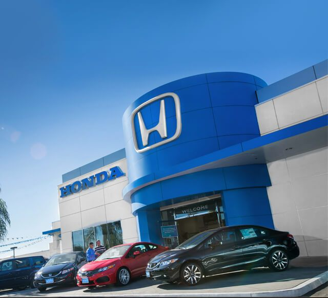 Honda Dealer In Los Angeles With Honda Sales, Leasing, And Service ...