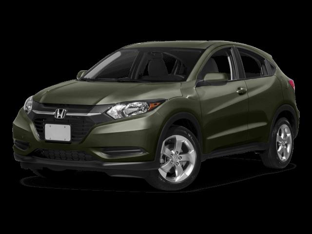 Green Honda HR-V