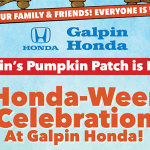 Honda-Ween Celebration at Galpin Honda