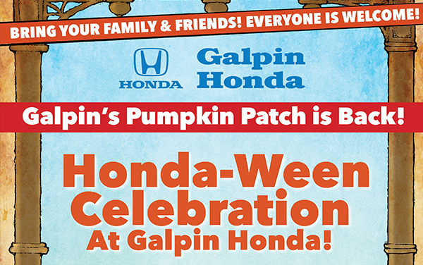 Honda-Ween Celebration at Galpin Honda