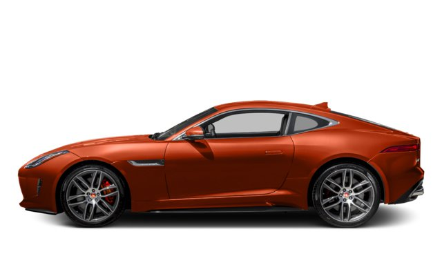 2017 Orange Jaguar F-Type