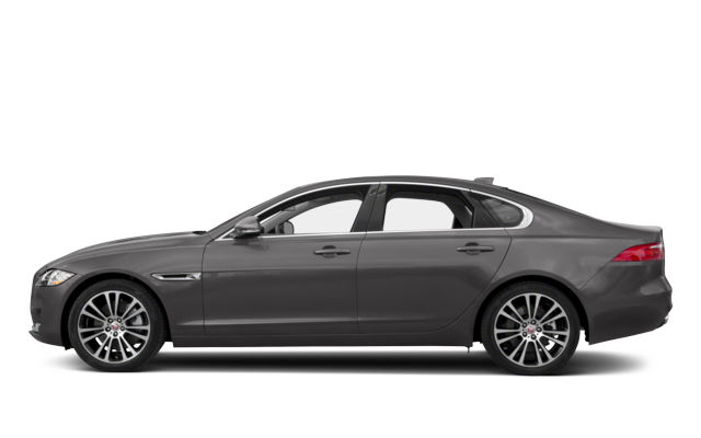 Gray Jaguar XF