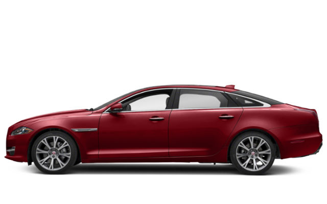 Red Jaguar XJ