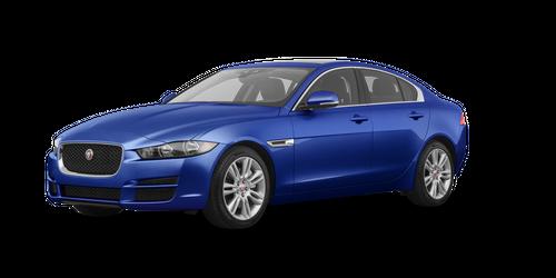 Blue Jaguar XE