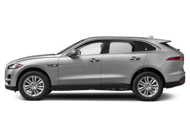 Silver Jaguar F-Pace