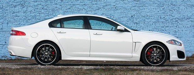 Jaguar XFR Review An English Bulldog Learns New Tricks - 2012 jaguar xfr review