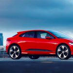 Jaguar Red I-PACE