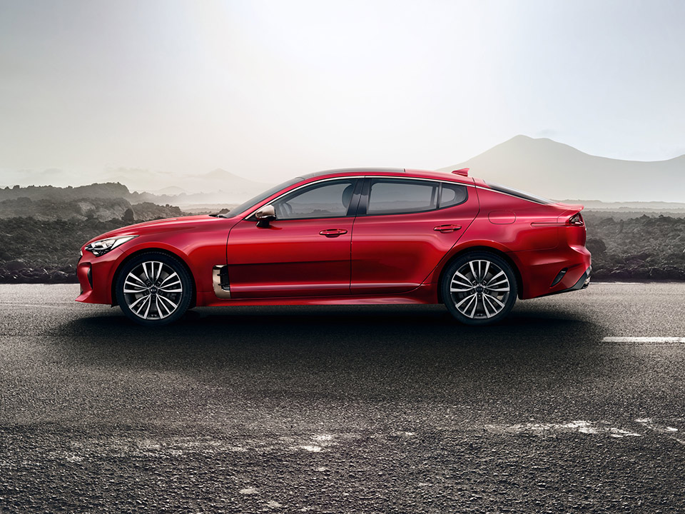 the 2018 kia stinger offers powerful engine options lots of cargo space. Black Bedroom Furniture Sets. Home Design Ideas
