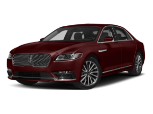 Red Lincoln Continental