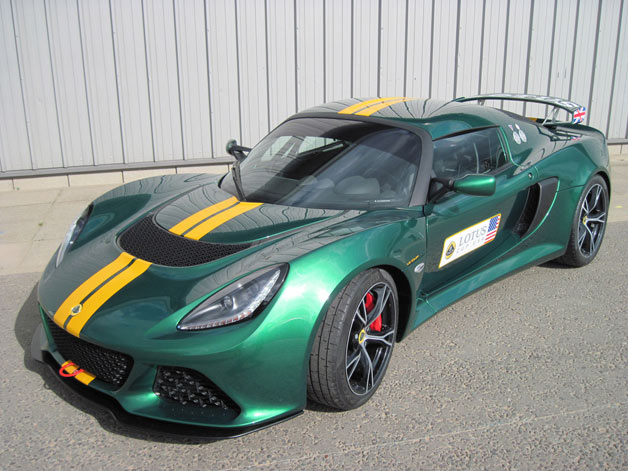 Lotus Green Exige