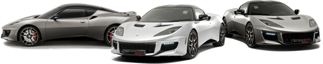 Three Lotus Vehicles
