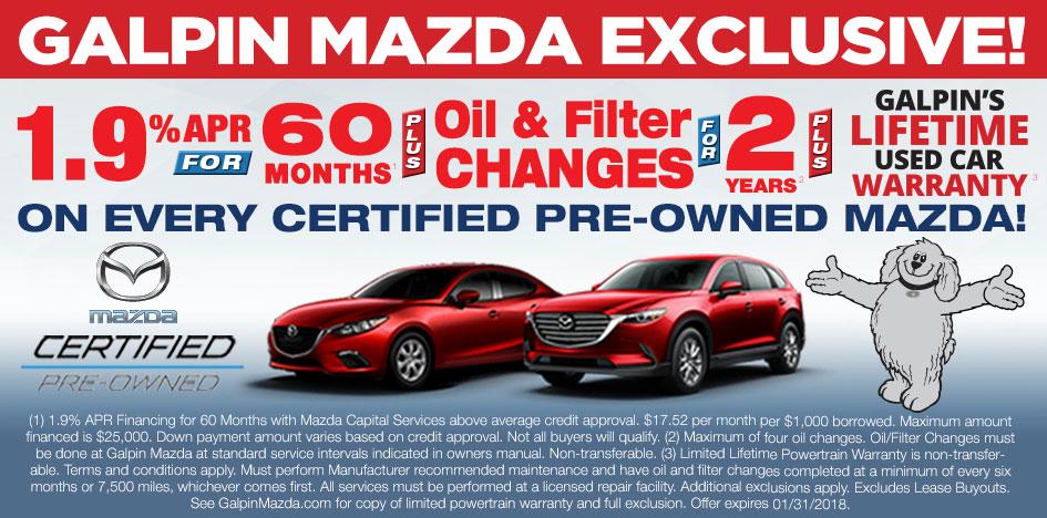 Mazda Certified Pre Owned Vehicles For Sale Santa Clarita Van