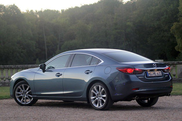 3e4b607179 The 2014 Mazda6 goes on sale later this year in Europe and in January 2013  here