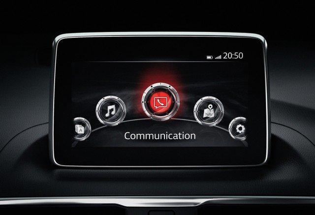 Mazda-LCD-navigation-screen
