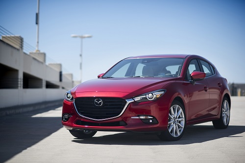 The 2017 Mazda3 Offers An Intuitive Infotainment System