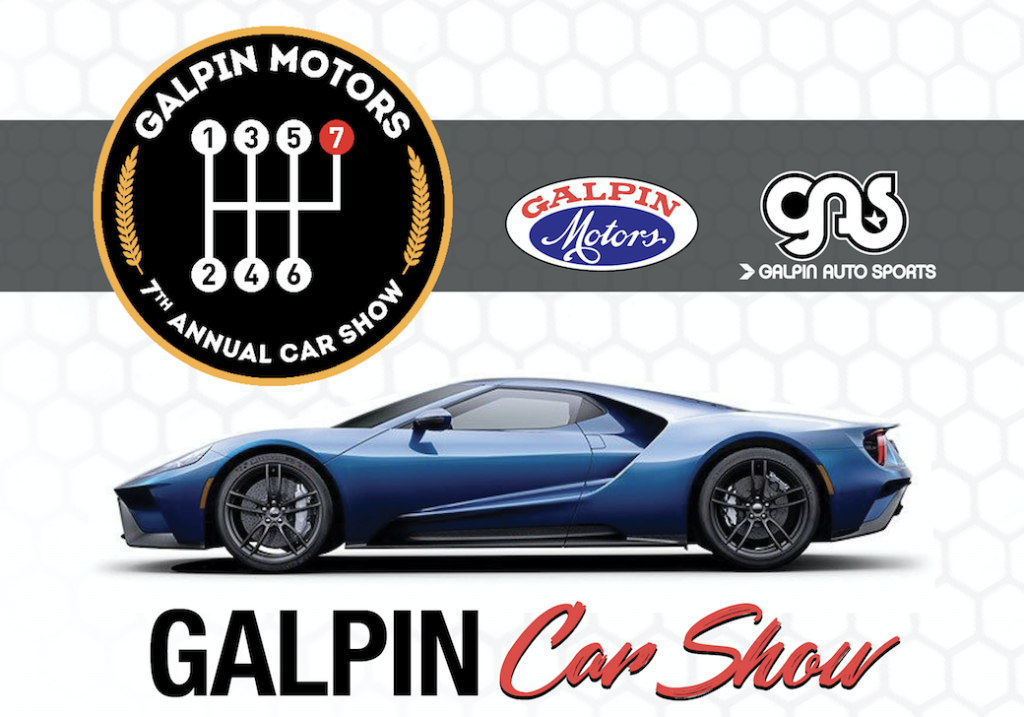 Save The Date Th Annual Galpin Car Show - Sports car shows near me