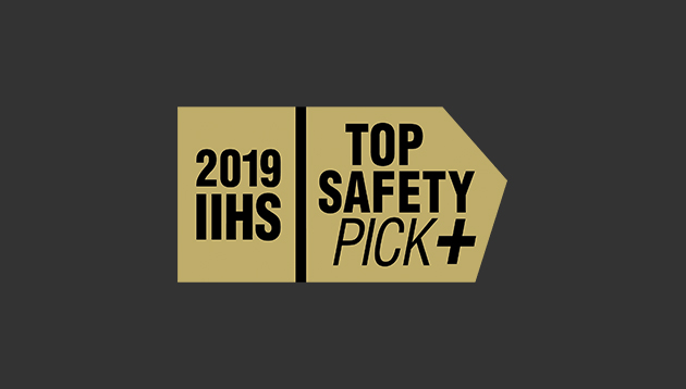 Top Safety Pick - 2019 IIHS