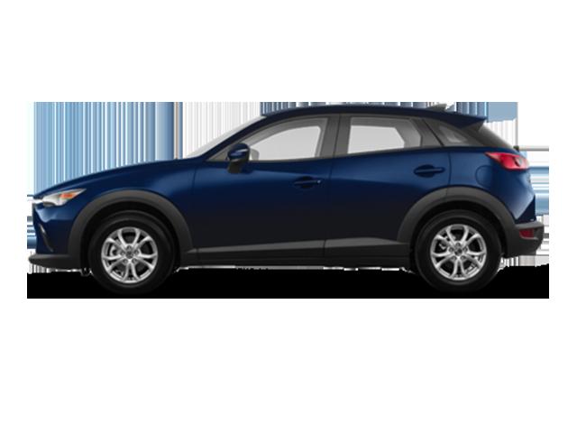 Blue Mazda CX-3