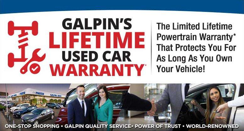 Galpin Mazda Limited Lifetime Powertrain Warranty Los Angeles San