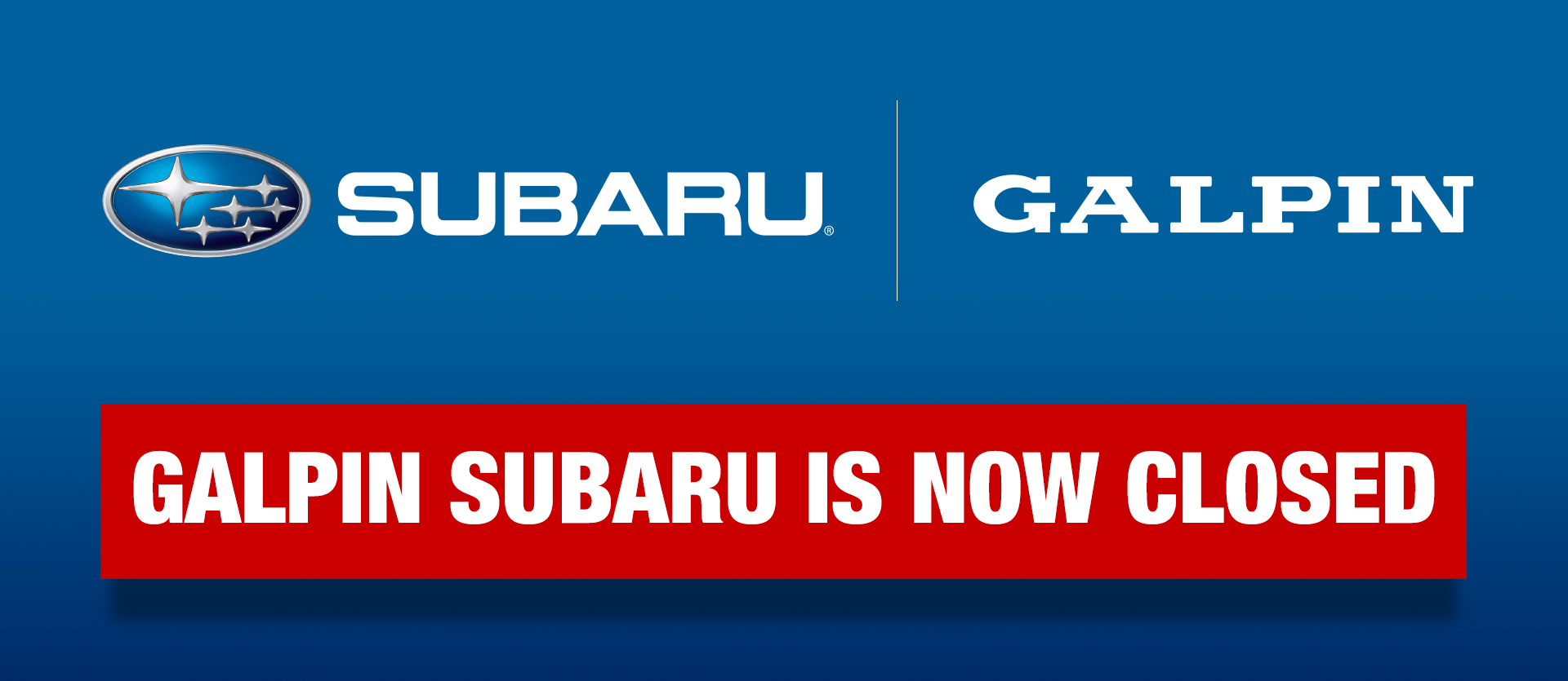 Any Inconvenience This May Cause You And Are Truly Reciative Of Your Loyalty We Look Forward To Serving In The Future Find Local Subaru
