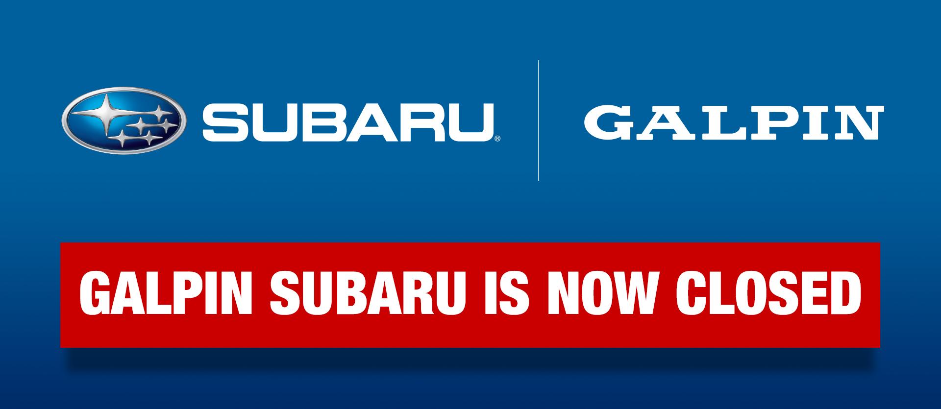 Chase Auto Finance Subaru >> Galpin Subaru Closing