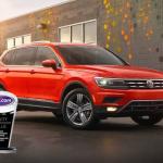 Red Volkswagen and Trophy