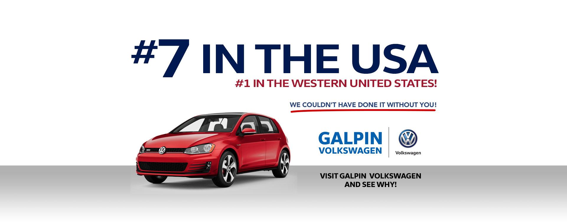 Galpin Volkswagen Dealership In North Hills Sales Lease Service