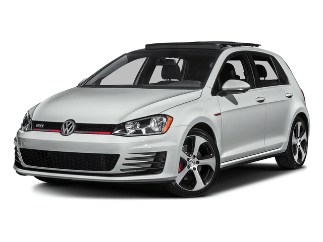 White VW Golf GTI