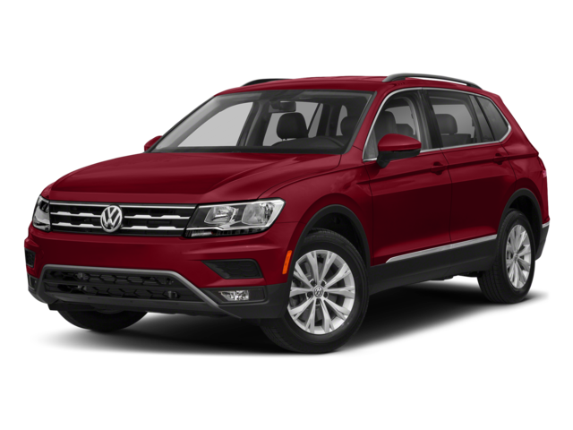 Red VW Tiguan