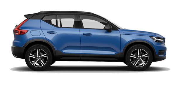 Blue Volvo XC60