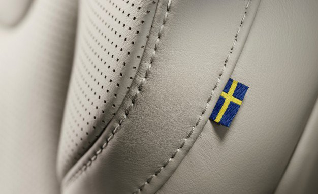 Swedish-flag-label-passenger-seat
