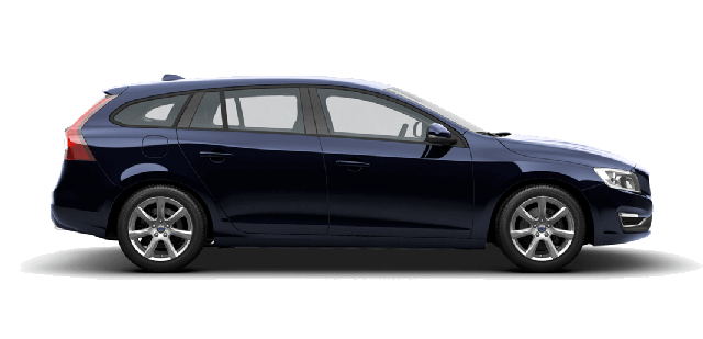 Dark Blue Volvo V60