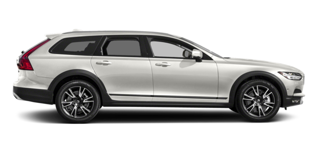 Off White Volvo V90 Cross Country