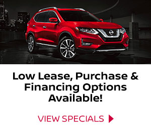 Buy, finance or lease a red Nissan SUV.
