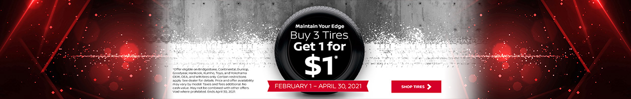 Nissan Tire Offer