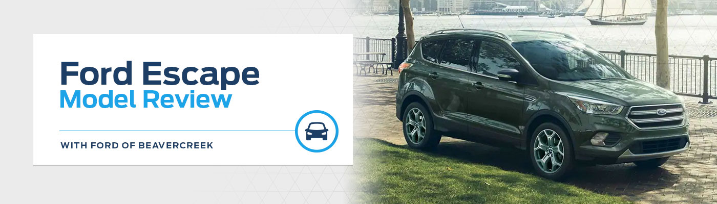2019 Ford Escape Model Overview at Germain Ford of Beavercreek