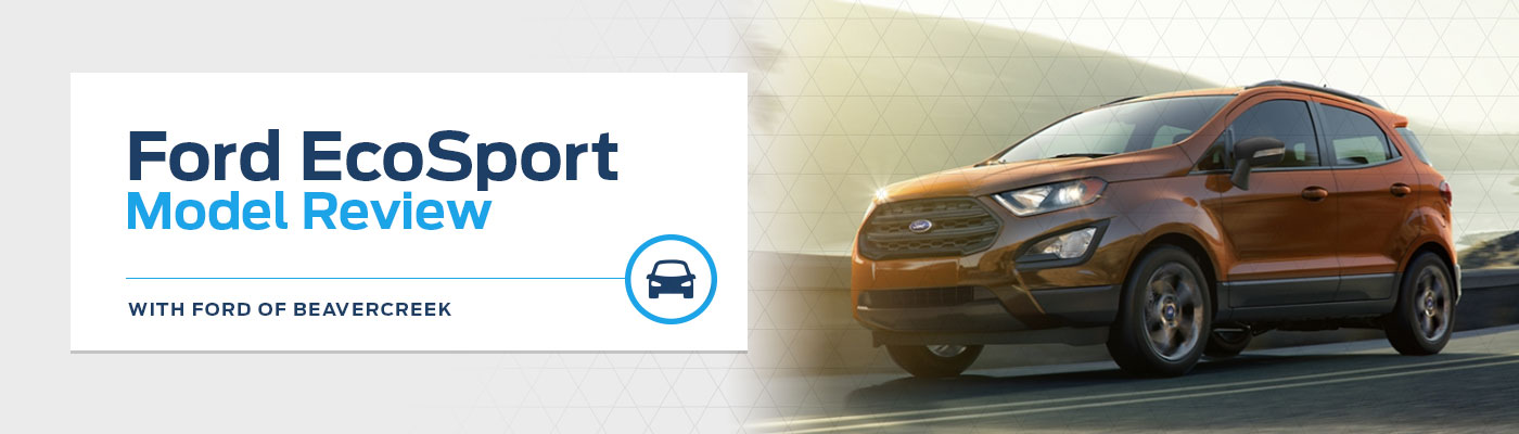 2019 Ford EcoSport Model Overview at Germain Ford of Beavercreek