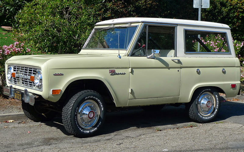 First Generation Ford Bronco